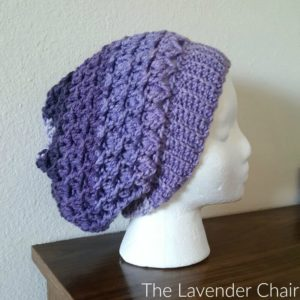 Reversible Lily's Slouchy Beanie Crochet Pattern