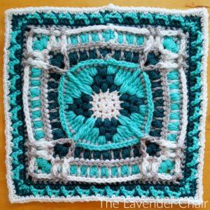 Suzanne's Frasera Mandala Square Crochet Pattern