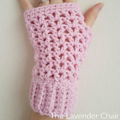 Valerie's Fingerless Gloves Crochet Pattern