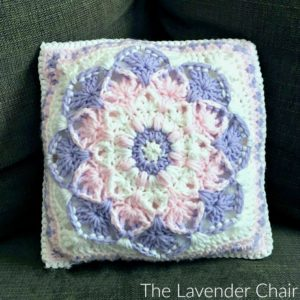 Kaleidoscope Lily Pillow Crochet Pattern