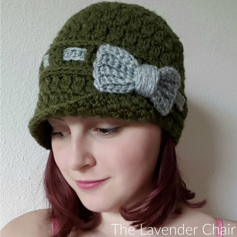 Candace\'s Cluster Cloche Crochet Pattern - The Lavender Chair