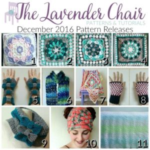 December 2016 Pattern Releases