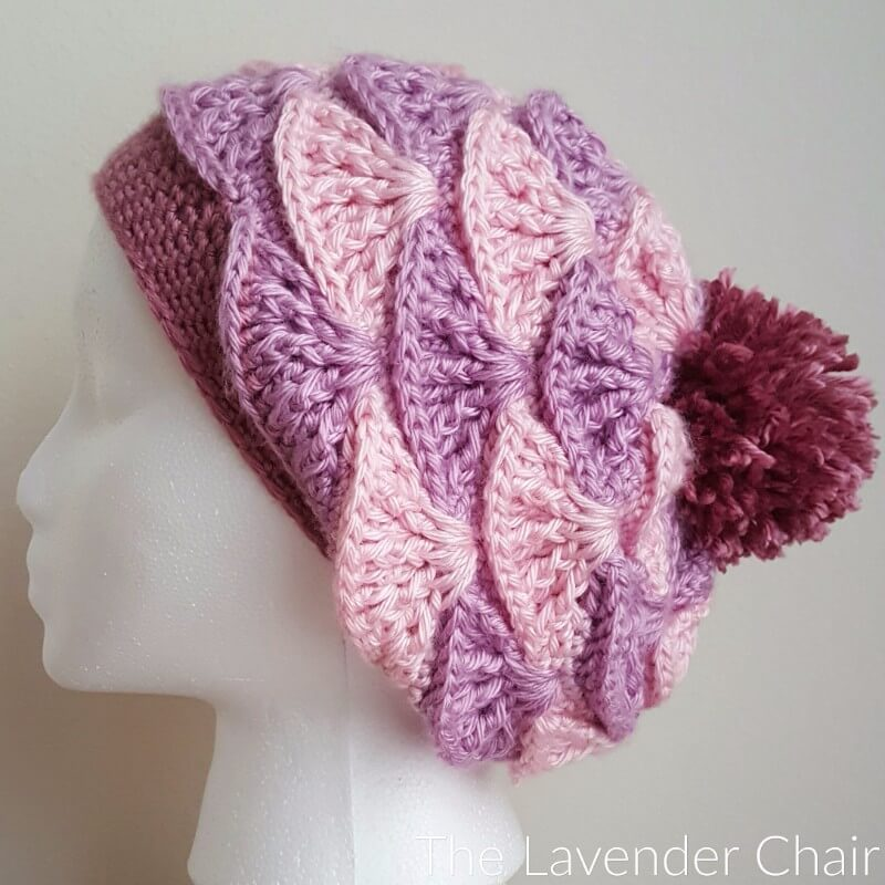 Painted in Warmth Slouchy Beanie Crochet Pattern
