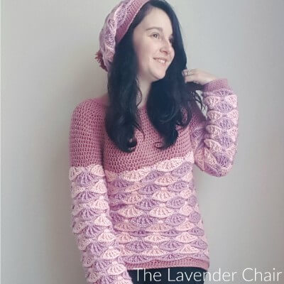 Painted in Warmth Sweater Crochet Pattern