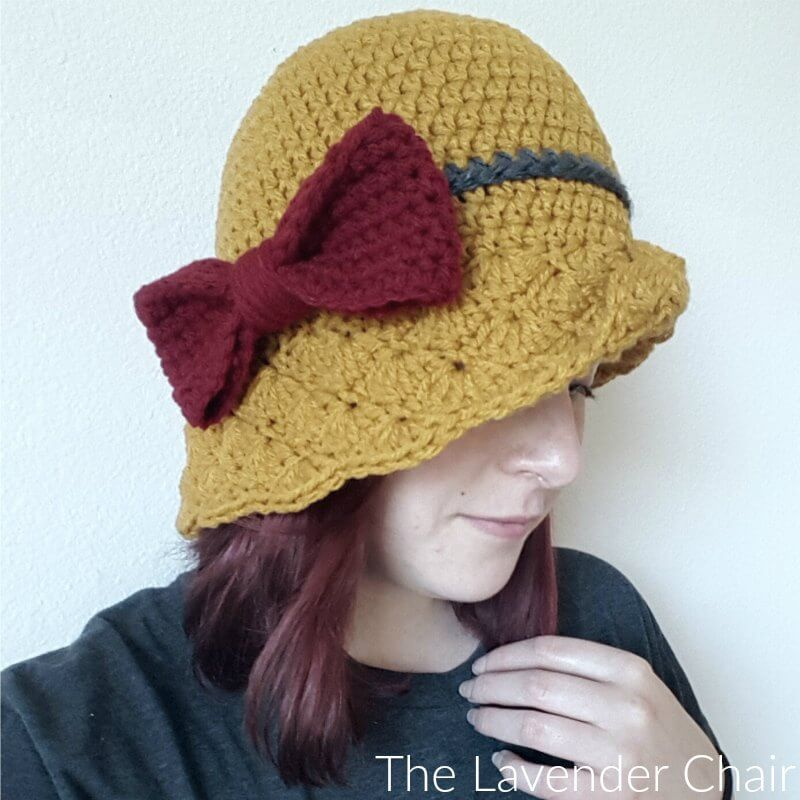 Simple Shells Cloche Hat Crochet Pattern