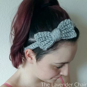 Super Simple Bow Headband Crochet Pattern (Infant – Adult)