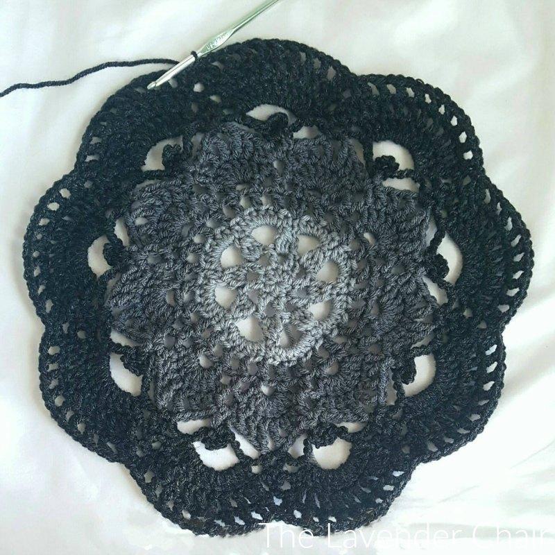 Starburst Mandala Circular Vest CAL Part 2