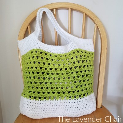 Lazy Daisy Market Bag Crochet Pattern