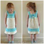 Lazy Daisy Sundress Crochet Pattern