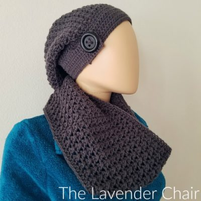 Crossed Double Cowl Crochet Pattern