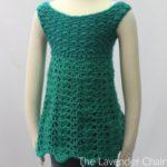 Teal Garden Dress Crochet Pattern