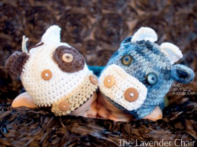 Two Cute Cows Crochet Pattern The Lavender Chair