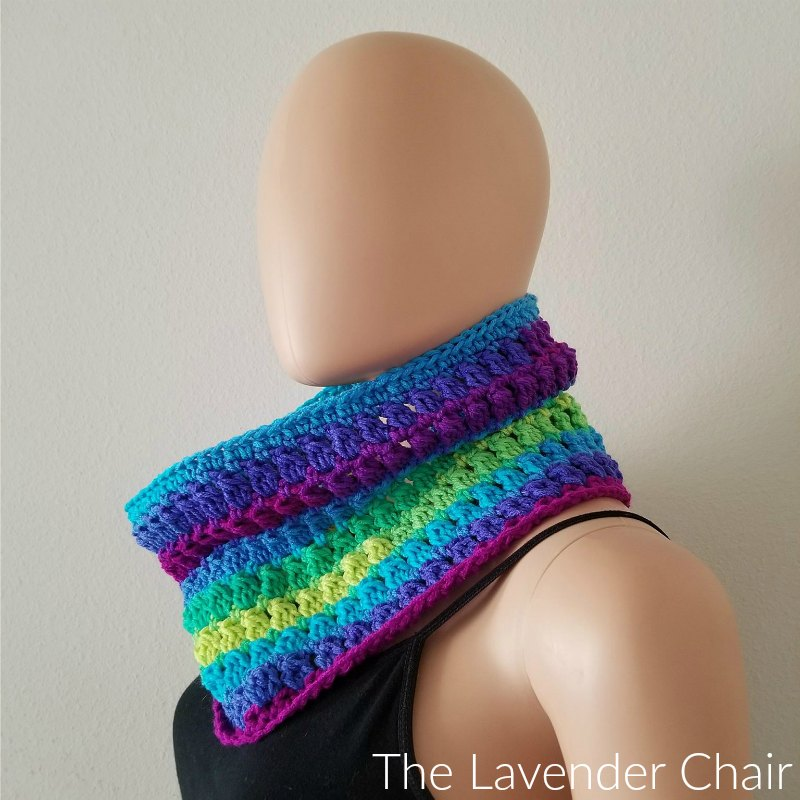 Candace's Cluster Cowl Crochet Pattern