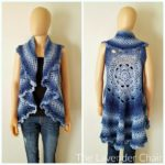 Midnight Star Mandala Vest CAL Part 3