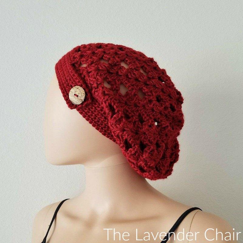 Climbing Shells Slouchy Beanie Crochet Pattern - The ...