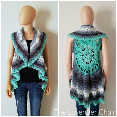 Dreamcatcher Mandala Circular Vest Crochet Pattern