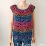Lacy Shells Top (Adult) Crochet Pattern