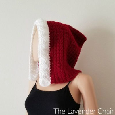 Mrs. Claus' Red Riding Hood Crochet Pattern