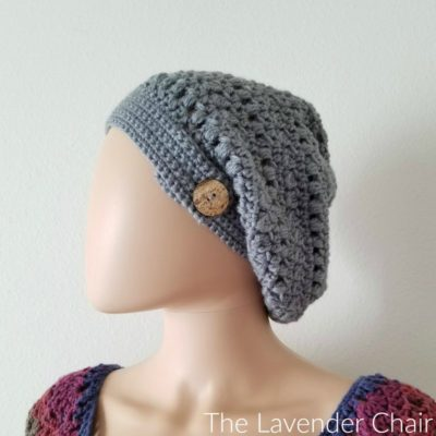 Candace's Cluster and Puff Slouchy Beanie Crochet Pattern