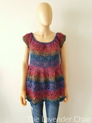 Image result for Lacy Shells Flowy Top Crochet Pattern