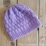 Textured Spike Stitch Beanie Crochet Pattern