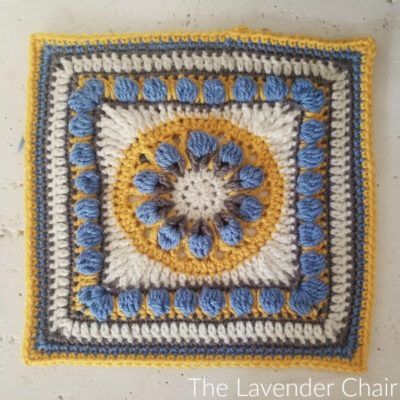 Tuscan Flower Square Crochet Pattern