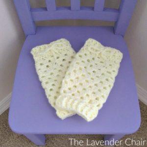 Granny Stitch Baby Legwarmers Crochet Pattern