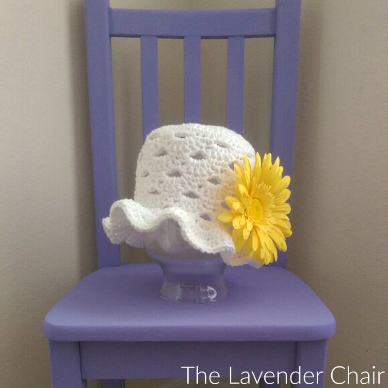 Stacked Shells Baby Sunhat Crochet Pattern The Lavender Chair