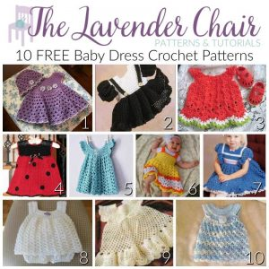 7003086a9a2d FREE Baby Dress Crochet Patterns - The Lavender Chair