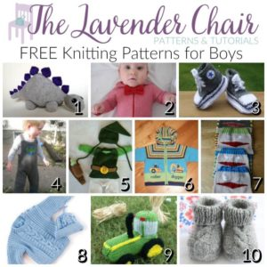 06ca721f0831 FREE Knitting Patterns For Boys - The Lavender Chair