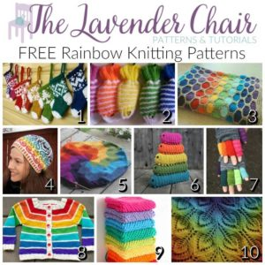 FREE Rainbow Knitting Patterns