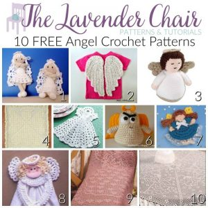 10 FREE Angel Crochet Patterns