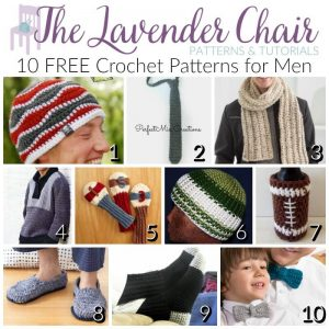 FREE Crochet Patterns For Men