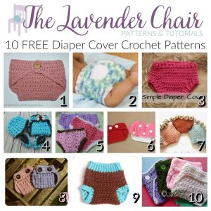FREE Diaper Cover Crochet Patterns