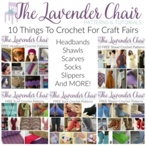 10 Things To Crochet For Craft Fairs