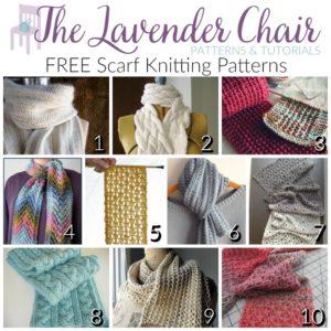 Elegant and FREE Scarf Knitting Patterns