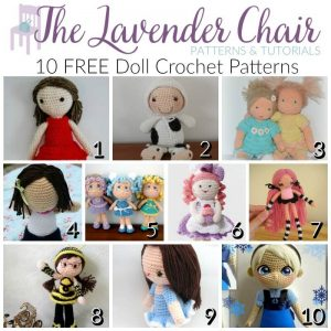 Free Doll Crochet Patterns The Lavender Chair