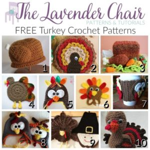 FREE Turkey Crochet Patterns