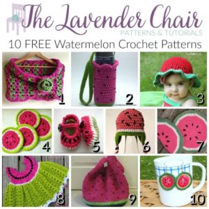 FREE Watermelon Crochet Patterns
