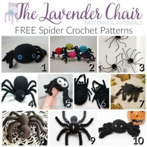 FREE Spider Crochet Patterns