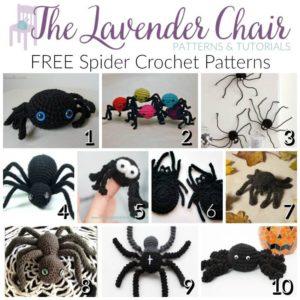 FREE Spider Crochet Patterns