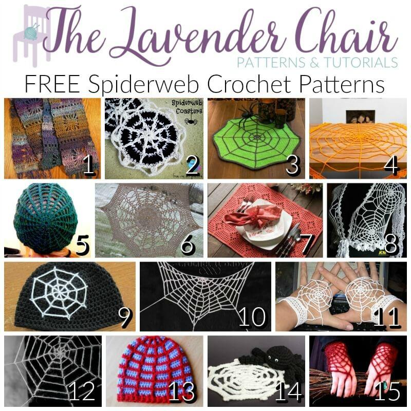 Free Spiderweb Crochet Patterns The Lavender Chair