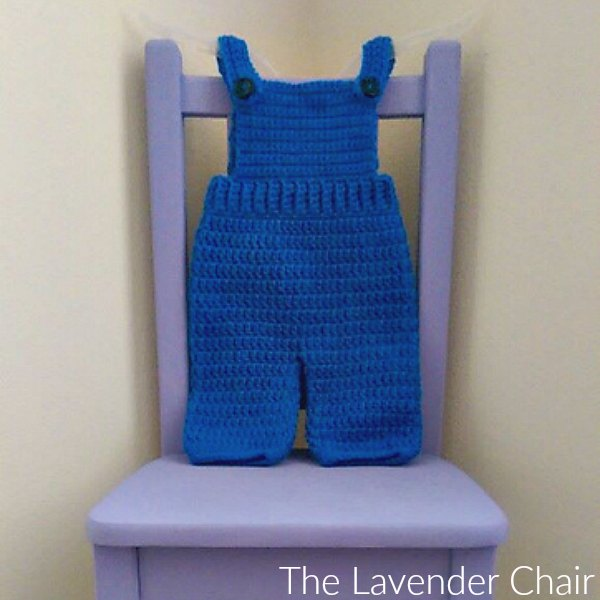 Overall Crochet Pattern The Lavender Chair