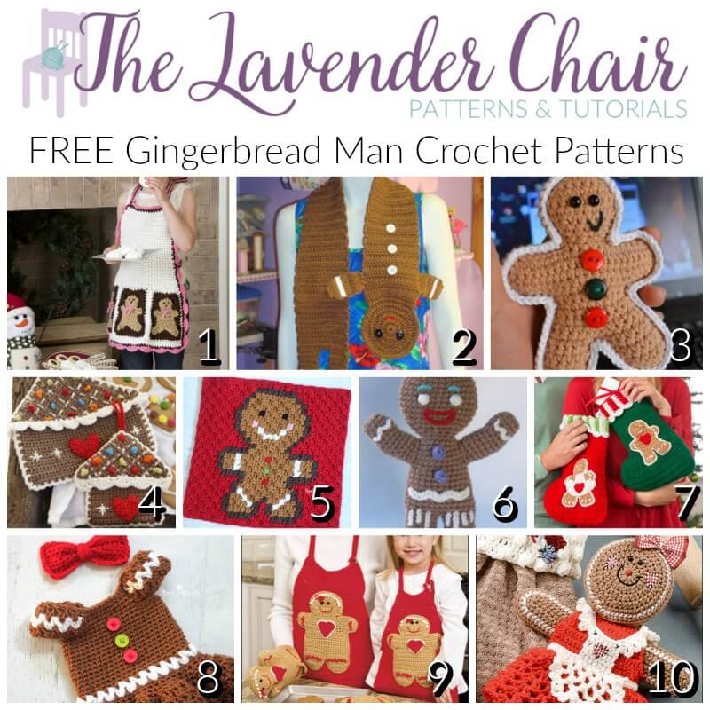 Free Gingerbread Man Crochet Patterns The Lavender Chair