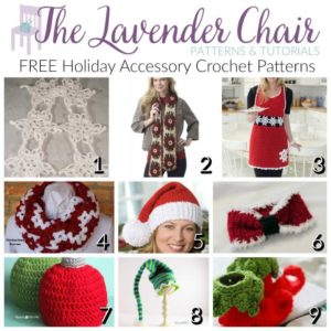 FREE Holiday Accessory Crochet Patterns