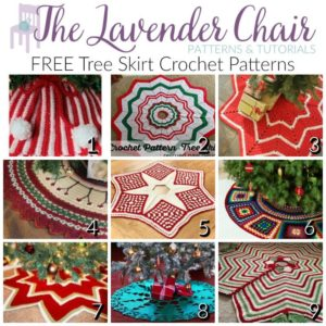 every year people put up and decorate their christmas trees part of decorating entails setting up your tree skirt these tree skirt crochet patterns are