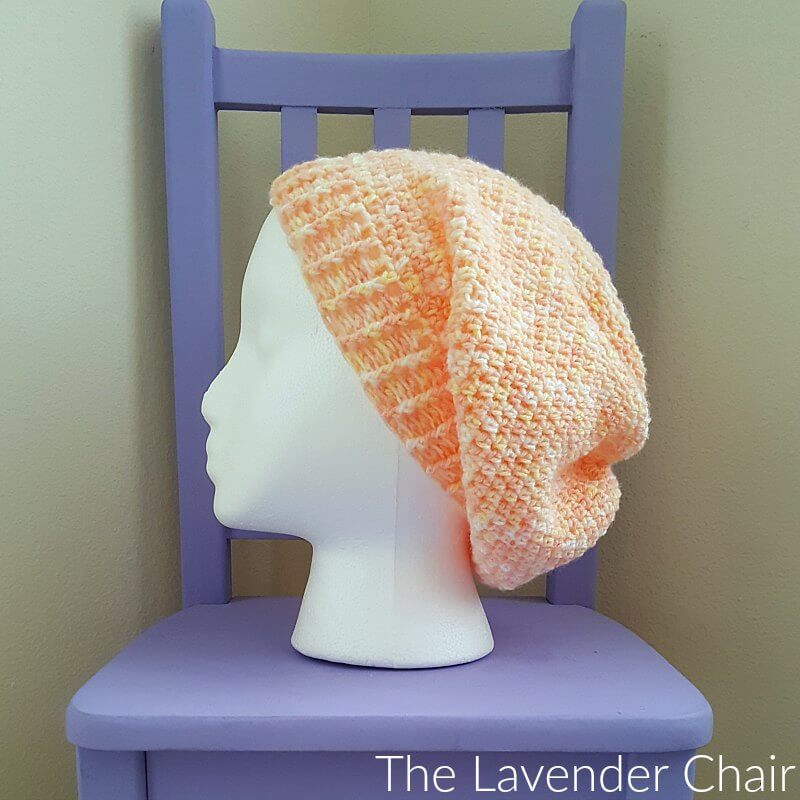 Simply Slouchy Beanie (Adult) Crochet Pattern