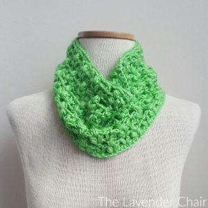 Clover Puff Cowl Crochet Pattern