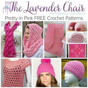 Pretty in Pink FREE Crochet Patterns