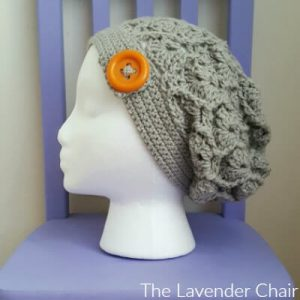 Wheat Fields Slouchy Beanie Crochet Pattern
